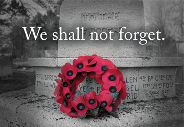 Least We Forget